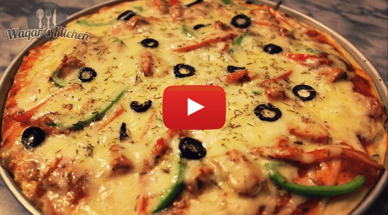 Italian archives waqars kitchen chicken fajita pizza recipe forumfinder Image collections