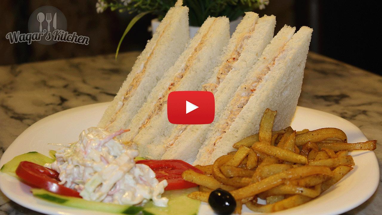 Chicken sandwich recipe waqars kitchen forumfinder Image collections